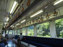 この列車、観光列車ねおがわに使用される車両だそうで、