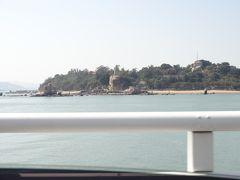 対岸に見えるのはコロンス島です。あの像も見覚えがあります!