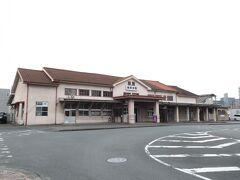 2020.08.23 南熊本 いらんことを考えてたうちに、南熊本駅に到着!