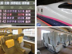 上野駅、新幹線ホームはひっそり。コロナ時でなくてもひっそりです。  とき307号(上野08:30→新潟10:28)に乗ります。
