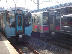 仙台から8時間かけて鈍行縛りで青森へやって来ました。 ピンクの701系秋田車の写真で思わせぶりな終わり方をした前回。もう、表紙とタイトルで出オチしてしまいまたが、これから奥羽本線で大館を目指したいと思います。