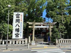 不動堂を後にして、隣の敷地にある富岡八幡宮に行きました。 江戸勧進相撲発祥の神社として有名です。
