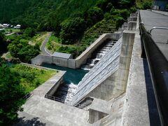 野洲川ダム。