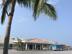 フリーパスなんで一度空港から市街に 離島ターミナルへ