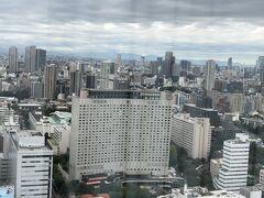 ストリングホテル東京インターコンチネンタル  日中の眺め