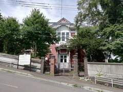 11:00、旧ロシア領事館。 幸坂の急な坂道を登ったところ、タクシーでよかった。