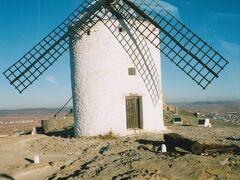 コンスエグラの丘にあるラ・マンチャの風車