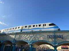 舞浜駅到着 今日はシーなのでディズニーリゾートラインに乗ります