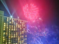 毎週金曜日の夜に打ち上げられるヒルトンの花火です。 https://youtu.be/sfAnoLm0udA