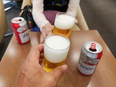 取り合えずビールで乾杯!