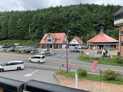 草津温泉の入り口にある道の駅。オシャレな建物です。