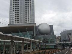 約10年ぶりの福井は駅前が大変化。高層のビルのハピリンが出来て、福井鉄道も駅前まで延伸していました。