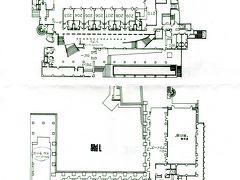 箱根ホテル平面図 上芦ノ湖下道路 ウェルカムドリンクあり、一階イルラーゴにて。