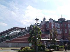 「深谷駅」本当、東京駅に似ている。14:35通過。