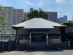 北品川駅近くにある善福寺。 時宗の寺院だそうです。