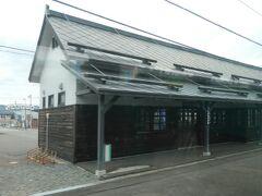 駅舎はリニューアルされているみたいです。