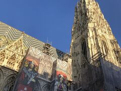 シュテファン大聖堂にやってきました。