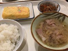 関空食堂で朝ごはん!