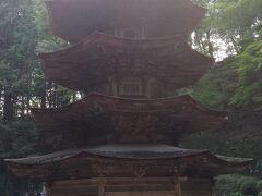 国宝の安楽寺八角三重塔にも上りました。ここまで登るとそこそこの標高なのでしょうが本当に暑かったです。
