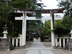 上杉神社の鳥居です。