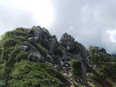 今日最初のピーク、濁沢大峰