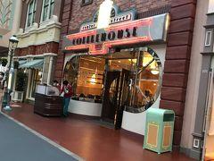 予約しておいたセンターストリートコーヒーハウスで夕食。