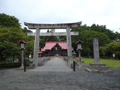 松前神社に来ました