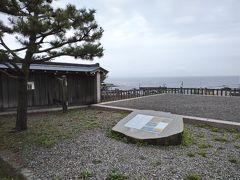 津軽海峡を望む