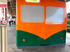 週末は混雑する江ノ島、鎌倉方面が混雑するのでなるべく早めに横浜を出発し、10時前に藤沢駅に到着、ホームでは、国鉄80系のオレンジと深緑色の2色「湘南色」の車両のNewDaysに思わず、撮影してしまいました。