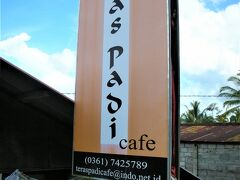 Teras Padi Cafe(テラス パディ カフェ)  02月13日(金)  14:30  15分程走って Tegallalang(テガララン)の テラス パディ カフェに到着~~