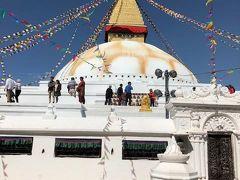 ボダナートです。ここは、ネパール最大のチベット仏教の仏塔で、チベット仏教徒にとって聖地と言われている場所です。