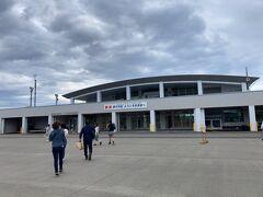 定刻よりも早く利尻島に到着しました。