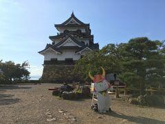 彦根城に到着!