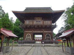 禅林街では長勝寺を見学し12:52に出発。13:20に南田温泉ホテルアップルランドに到着。