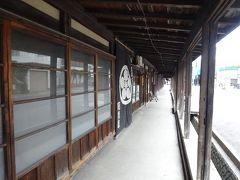 15:40黒石市中町に到着。こみせ通りや周辺を見学し、妙光でつゆやきそばを食べる。16:50出発。