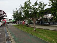 17:10道の駅なみおかに到着。インフォメ-ションでりんごや温泉の情報を得て、温泉に出発17:45
