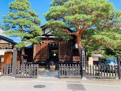 日枝神社の御旅所。 日枝神社・春の例祭(山王祭)は、秋の櫻山八幡宮の例祭とともに高山祭として知られます。