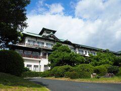 蒲郡駅から徒歩20分、最後の坂がキツかった・・・蒲郡クラシックホテルに到着!!