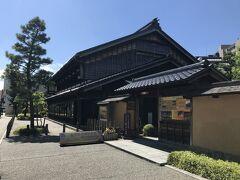 斜向かいの金沢市老舗記念館へ。 こちらも共通観覧券利用。