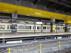 8:41発のJR嵯峨野線(山陰本線)で亀岡駅に出発