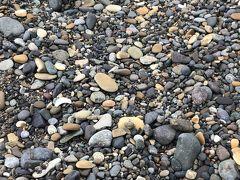 七里長浜海岸で石拾い♪