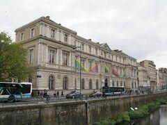外観だけですが、レンヌ美術館。