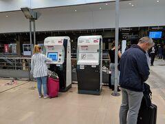 昨日も訪れたモンパルナス駅へ。
