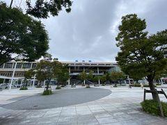 バスに乗って新潟駅へ。
