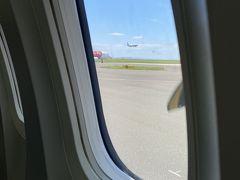 中部国際空港から新潟空港へ向け離陸です。
