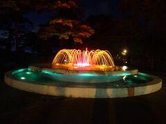 この後、なぜかまっすぐ帰らずに高田公園へ。 観蓮会はもう1週間も前に終わったというのに。