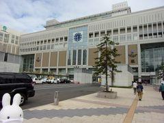 札幌駅の東側の方を行くと…、