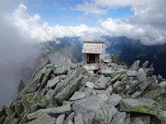 槍ヶ岳に登頂!5年ぶり2回目です。