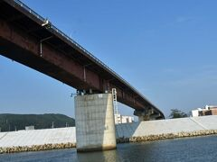 日和大橋に戻ってきました。
