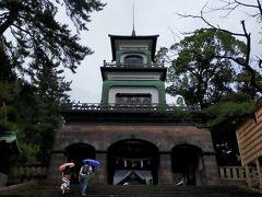 金沢の目的地のひとつ尾山神社へ